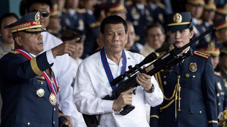 El presidente Dutere quiere bajar la edad de imputabilidad penal.
