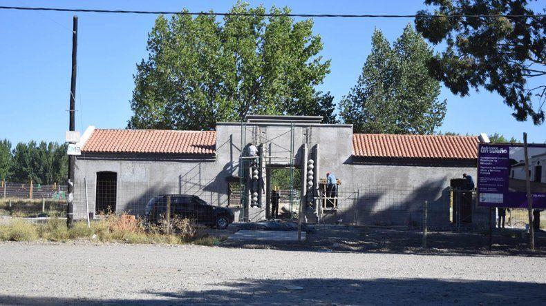 La Casa de Tucumán en Senillosa fue copiada de la que está en Famaillá.