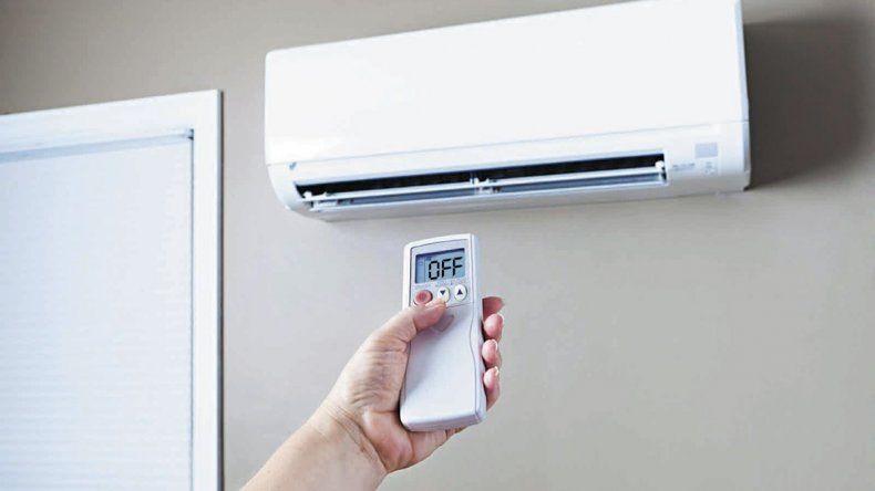 Este verano se encendieron menos acondicionadores de aire en la ciudad