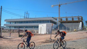Ya está casi lista la primera etapa de la obra del edificio municipal.
