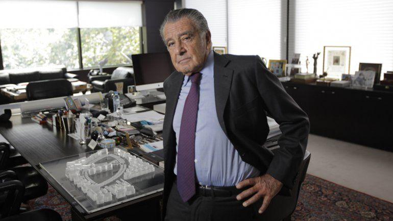 El empresario se presentó ante el juez federal Claudio Bonadio.