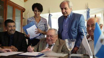 Pedro Salvatori firmó el proyecto original de la microcentral siendo presidente de la ADI Neuquén.