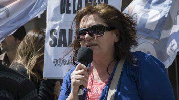 Susana Delarriva, secretaria adjunta del gremio docente ATEN.