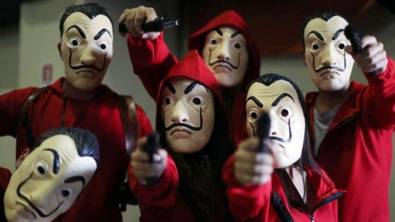 Netflix confirmó la cuarta temporada de La Casa de Papel
