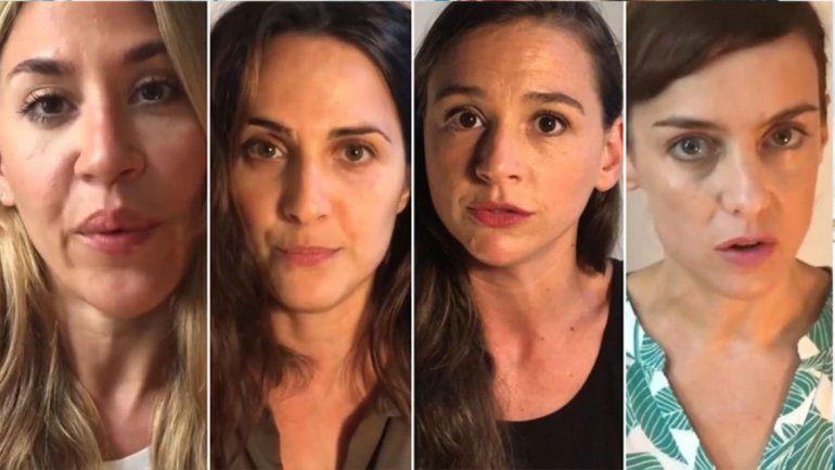 El colectivo Actrices Argentinas explicó por qué no se pronunció en los casos de Darín y Natacha Jaitt