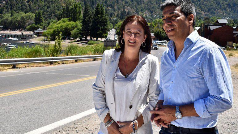 Los candidatos estuvieron de campaña en San Martín de los Andes.