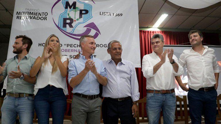Con su colectora, Manganaro se sumó a la campaña de Quiroga