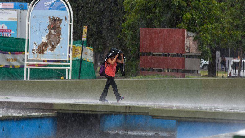 Clima: las lluvias serán protagonistas en el miércoles de paro