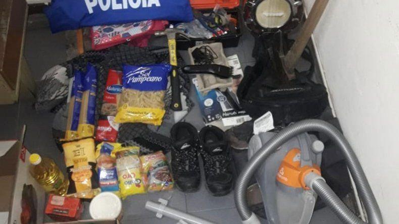 Los ladrones se habían alzado con un cuantioso botín de una vivienda.