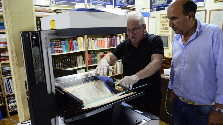 El coordinador del Archivo