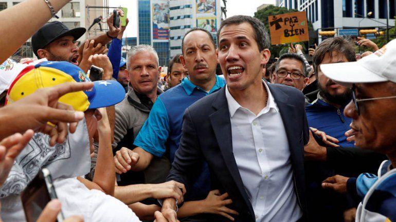 Guaidó llamó a una gran marcha para la otra semana