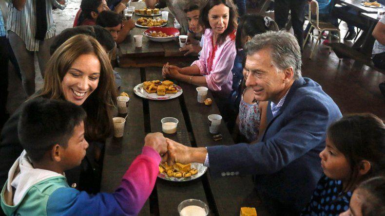 Macri y Vidal, otra vez juntos, con el eje en los comicios