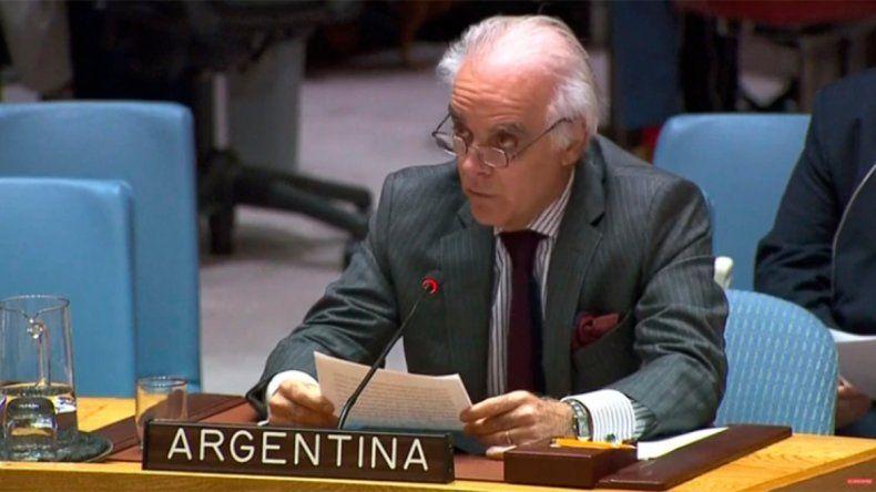 Argentina sobre Venezuela en la ONU: No se puede permanecer indiferente