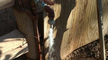varios barrios con problemas de agua potable: ¿que paso?