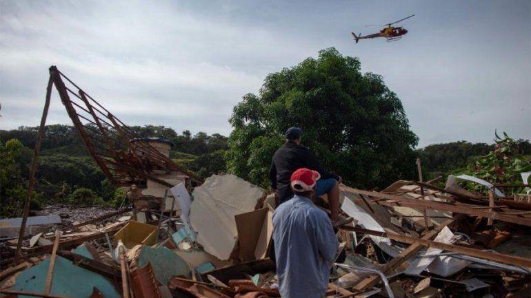 Evacuaron a toda Brumadinho ante la posible rotura de otro dique