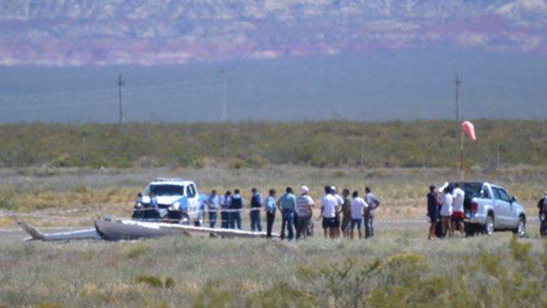Cayó un planeador en el aeropuerto de Cutral Co: murió el piloto oriundo de Neuquén