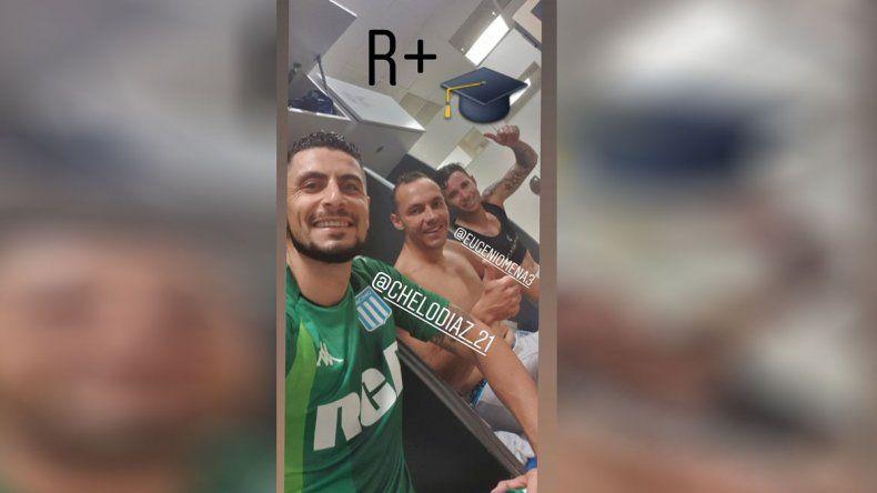 Racing y Chile celebran el regreso de Arias