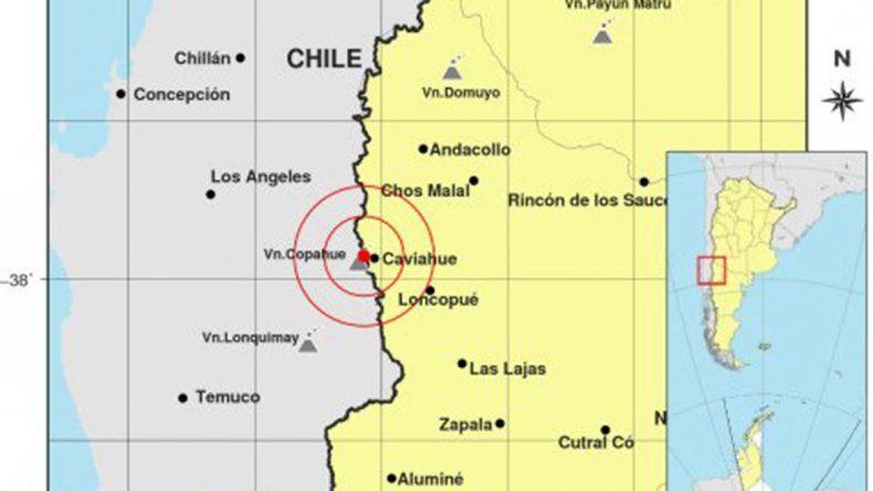 Un sismo hizo vibrar Caviahue y Copahue