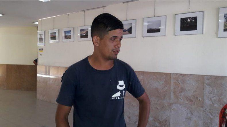 Llegó a Neuquén cargado de sueños y le robaron todo: pide ayuda para volver a Buenos Aires