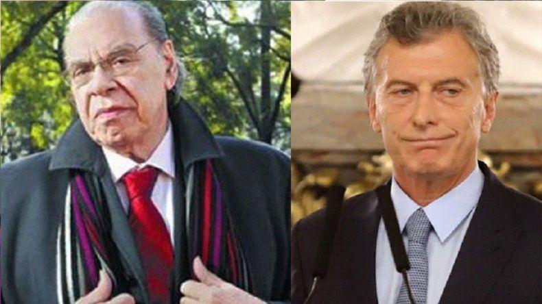 Pinti durísimo con Macri por la crisis económica: El agua me llega al cuello