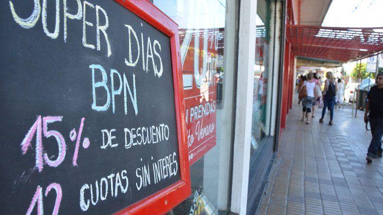 La promo del BPN  les dio un alivio a  los comerciantes