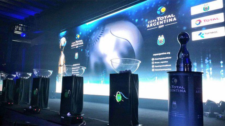 Se sorteó la Copa Argentina: así quedaron los cruces