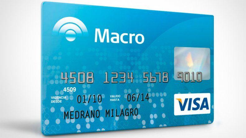 Macro lanza tarjetas de crédito y débito con sistema Contactless