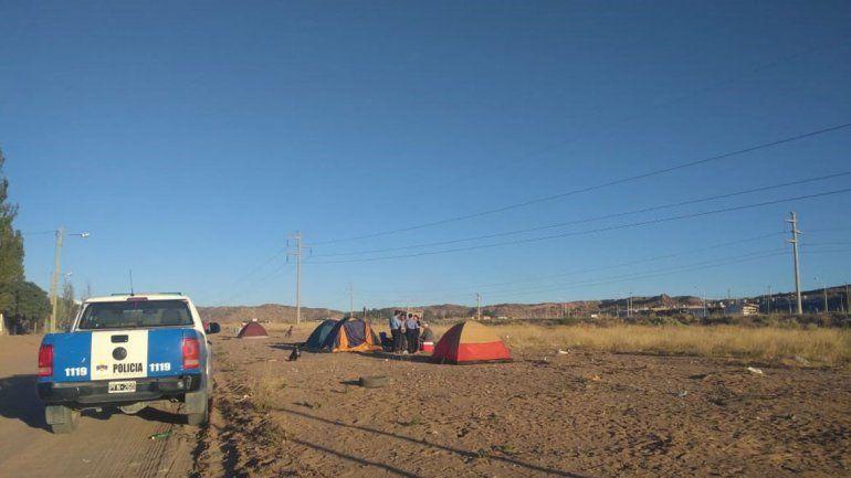 Justicia intimó a familias que realizan la toma en Almafuerte: el plazo vence a las 20