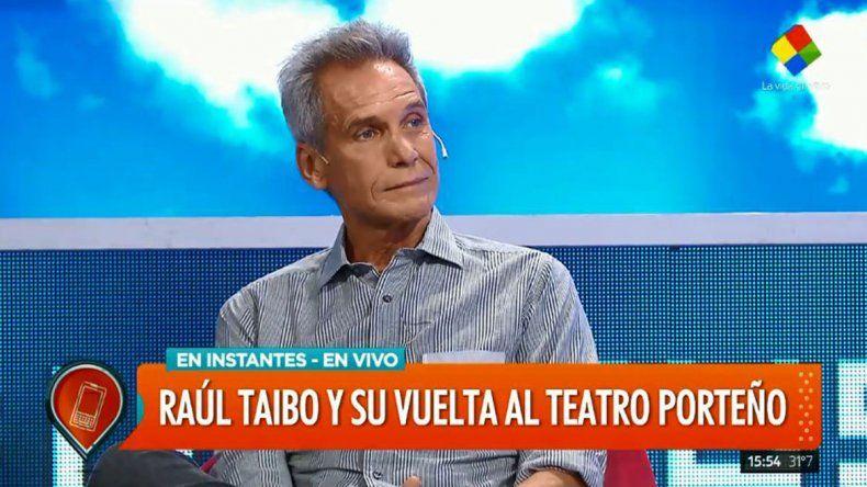Raúl Taibo: Yo estaba al palo y ella se fue