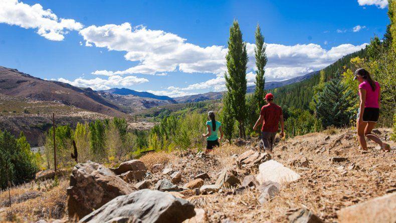 Tres senderos de Huinganco con alto valor turístico