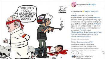 fulop, contra el papa por su postura sobre venezuela