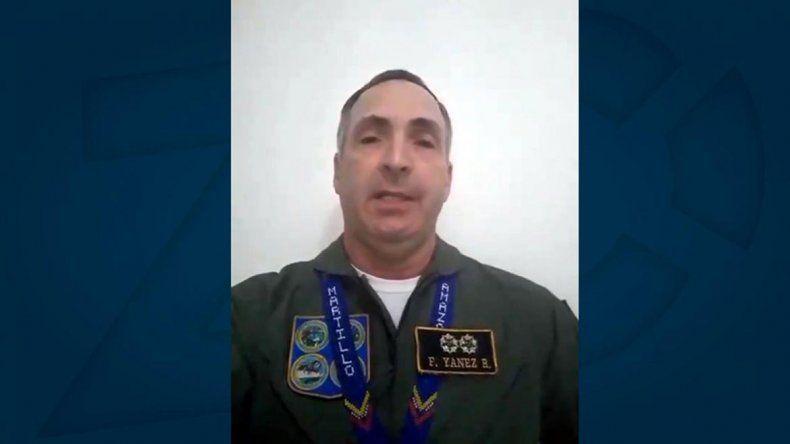 Venezuela: general de la Fuerza Aérea le dio su respaldo a Guaidó