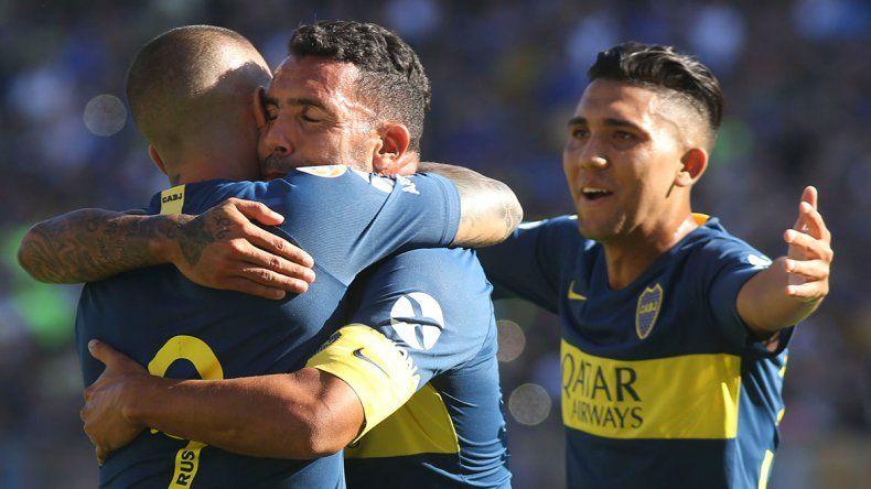 Boca venció a Godoy Cruz en su vuelta a La Bombonera