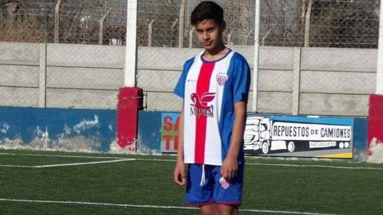 Atlético Neuquén, de luto por la muerte de un chico de sus inferiores