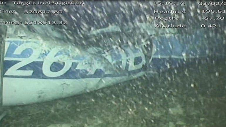 Hallaron un cuerpo en el avión de Emiliano Sala