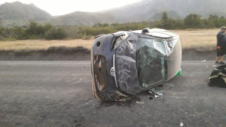 Volvían a Chile, perdieron el control y volcaron: hay dos mujeres heridas