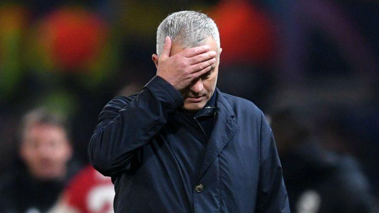 El terrible porrazo de Mourinho