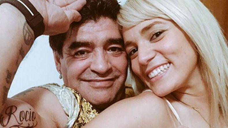 No la quiere en su piel: Diego tapará el tatoo de Rocío con otro bien peroncho