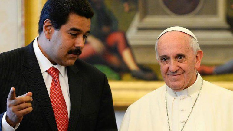 Nicolás Maduro le mandó una carta al papa Francisco