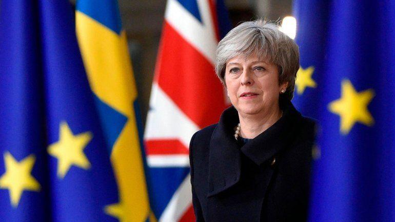 Theresa May irá a Bruselas a batallar por Gran Bretaña