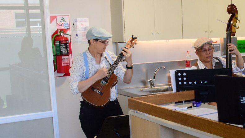 Era paciente oncológica y hoy lleva su música al COI