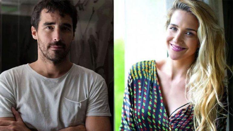 Nacho Viale y Soledad Fandiño, a los besos en Estados Unidos