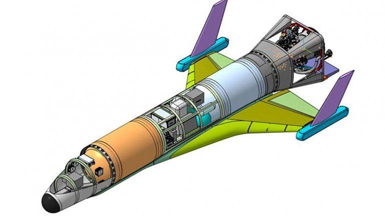 Rusia anunció un dron espacial hipersónico