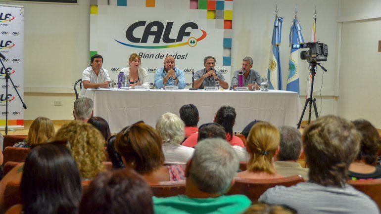 La asamblea de CALF avaló dar pelea contra el tarifazo
