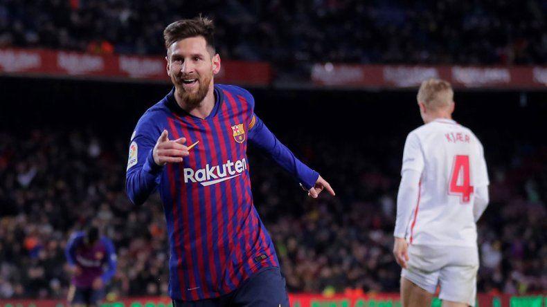 Messi no se perderá el primer clásico