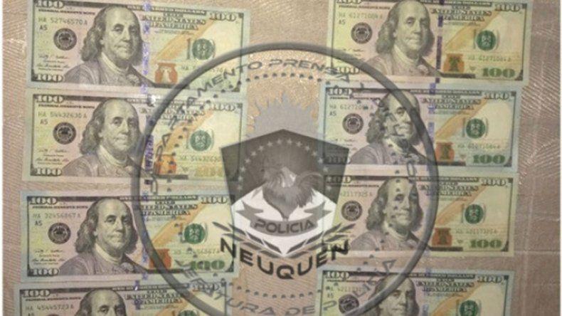 Fueron por el ladrón de una Hilux y dieron con US$ 800 falsos