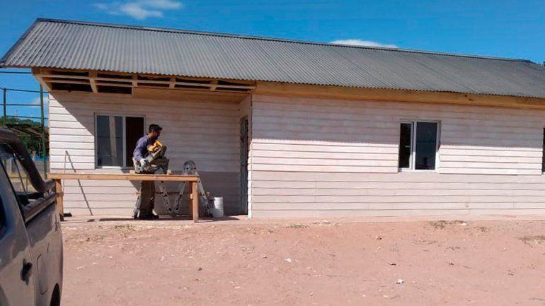 Construyen un destacamento policial en Valentina Norte Rural