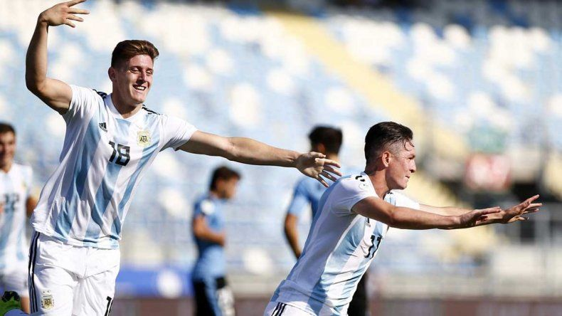 La Selección Sub20 le ganó a Uruguay y consiguió el boleto para el Mundial