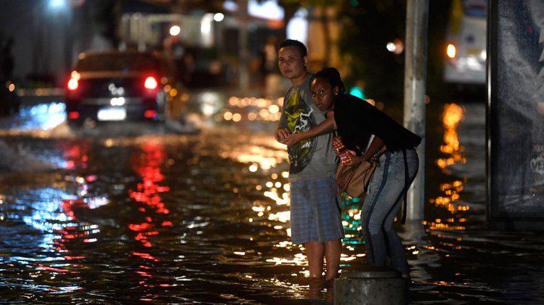 Al menos 5 muertos en Río de Janeiro por un temporal