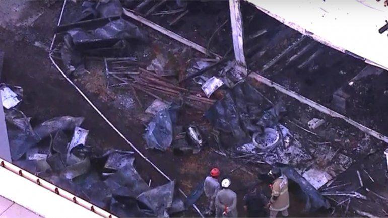 Al menos diez muertos por un incendio en el club Flamengo